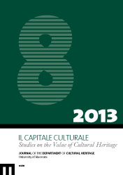 Il Capitale Culturale. Studies on the Value of Cultural Heritage, n. 8/2013