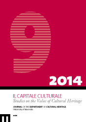 Il Capitale Culturale. Studies on the Value of Cultural Heritage, n. 9/2014