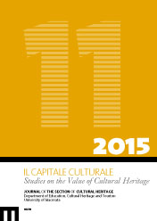 Il Capitale Culturale. Studies on the Value of Cultural Heritage, n. 11/2015