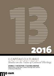 Il Capitale Culturale. Studies on the Value of Cultural Heritage, n. 13/2016