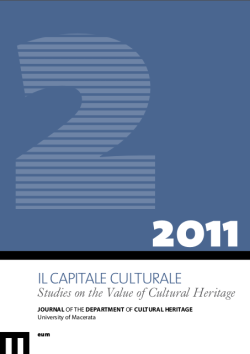 Il Capitale Culturale. Studies on the Value of Cultural Heritage, n. 2/2011